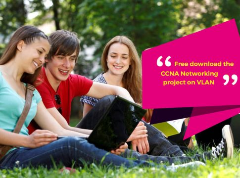 Free download for CCNA Networking project on VLAN