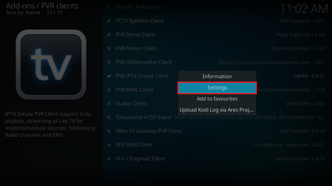 How to Install PVR IPTV Simple Client on Kodi 17 Krypton: A Step-by