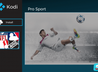 How to Install Pro Sport on Kodi