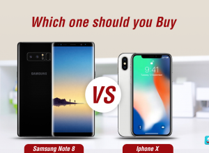 iPhone X or S8