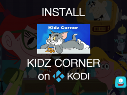 How to Install Kidz Corner on Kodi