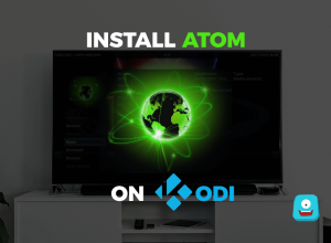 How to Install Atom on Kodi