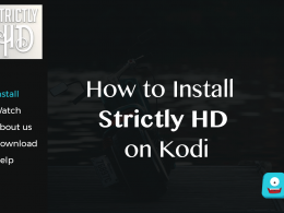 How to Install Strictly HD on Kodi