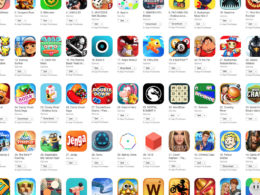 Games on IOS Play Store