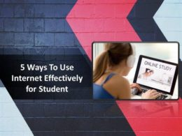 5 Ways the Internet Can Be Good for Students