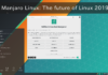 Manjaro Linux The future of Linux 2019